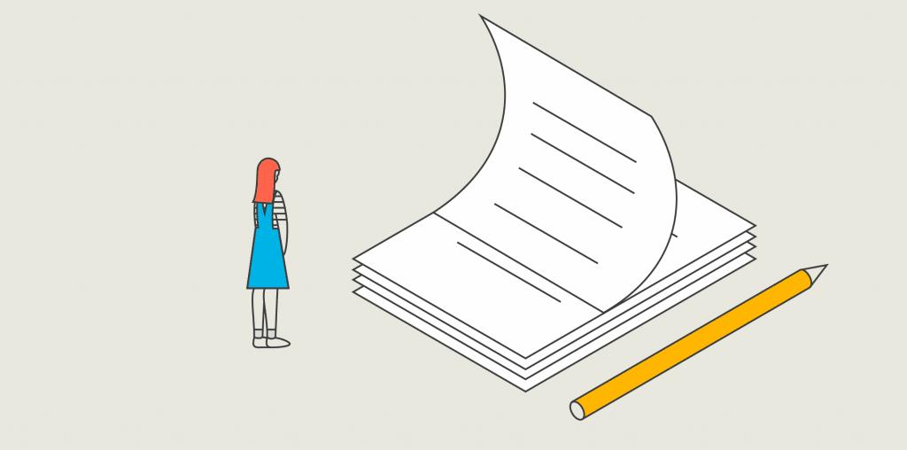 Papiere und Stift icon