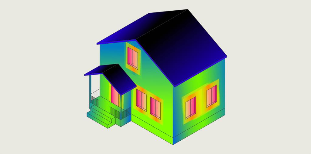 Haus Wärme