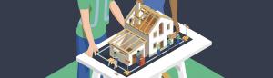 Hausbau Dach nicht fertig